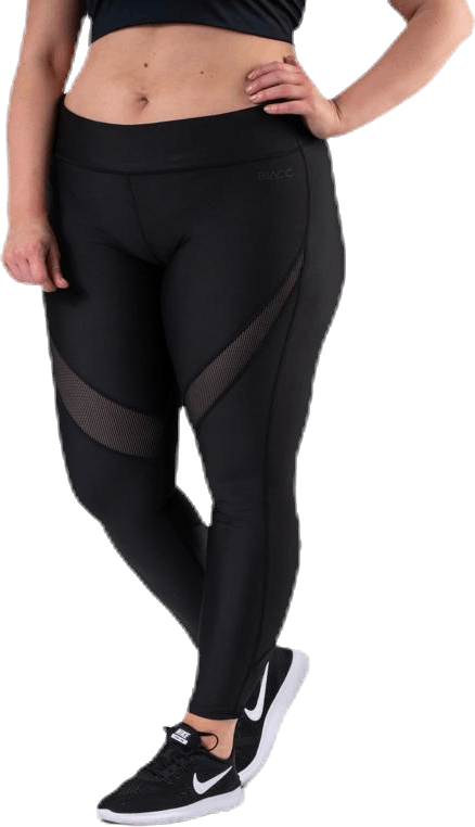 Speed Plus Size Tights Black