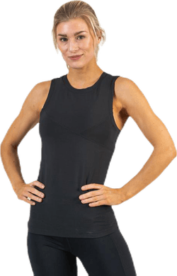 Koray Rib Tank Black