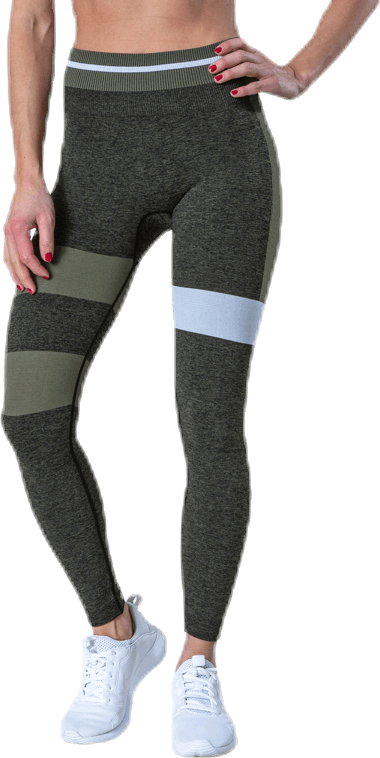 Halley Seamless Tights Green