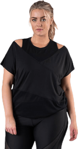 Alula Plus Size Tee Black