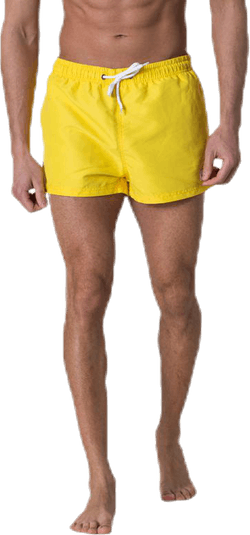 Kai Short Swim Trunks Yellow