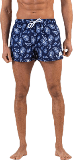 Kai Short Swim Trunks Blue