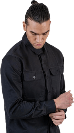 Recruit Overshirt Black