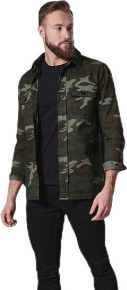 Recruit Overshirt Patterned