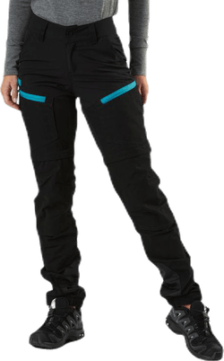 Adventure Zip Off Pants Black