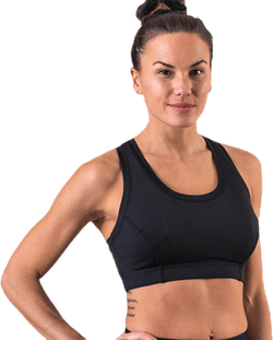 Star Sports Bra Black
