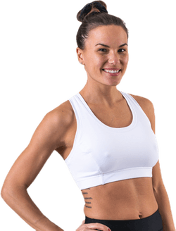 Star Sports Bra White