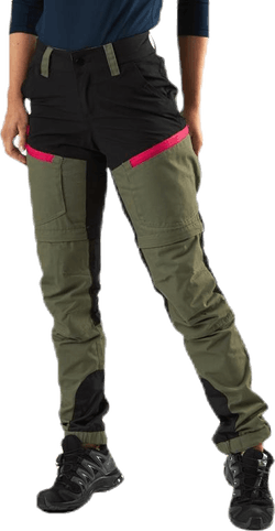 Adventure Zip Off Pants Green