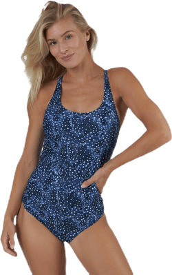 Race Swimsuit Blue