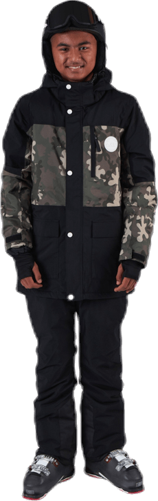 Flister Snowboard Jacket Patterned/Black