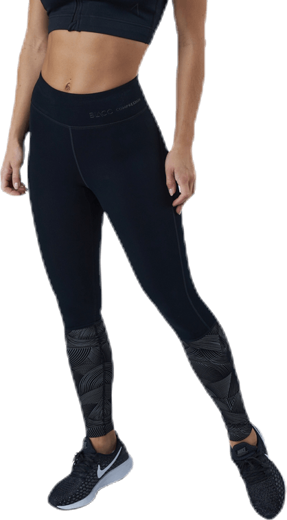 Firm Winter Compression Tights Black