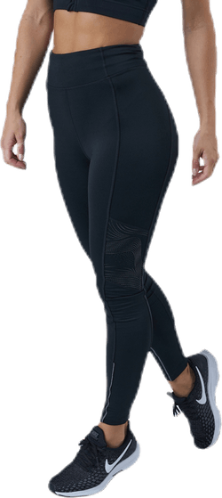Fast Lane Winter Tights Black/Silver