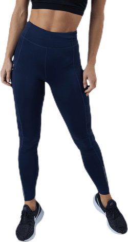 Fast Lane Winter Tights Blue
