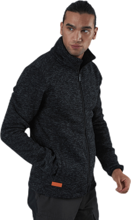 Tilt Fleece Jacket Black