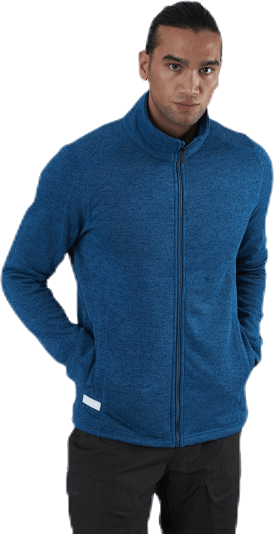 Tilt Fleece Jacket Blue