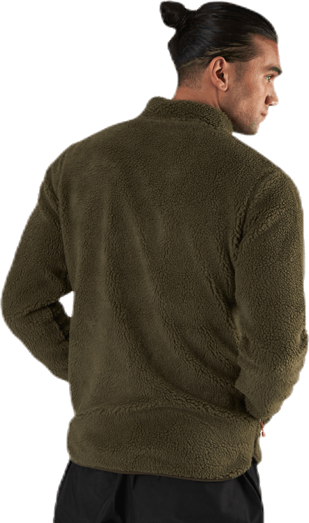 Creek Pile Jacket Green