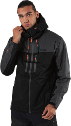 Pike Hard Shell Jacket Black