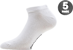 5-pack Low Cut Sock White
