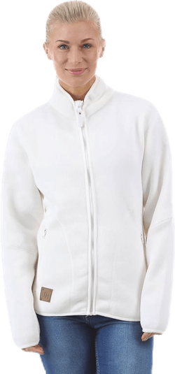 Fleece Jacka White