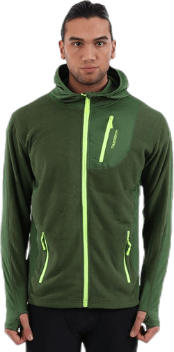 Hood Jacket Fleece Green