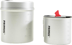Essential Trek Pot Set Grey