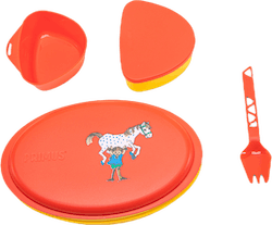 Meal Set Pippi Red