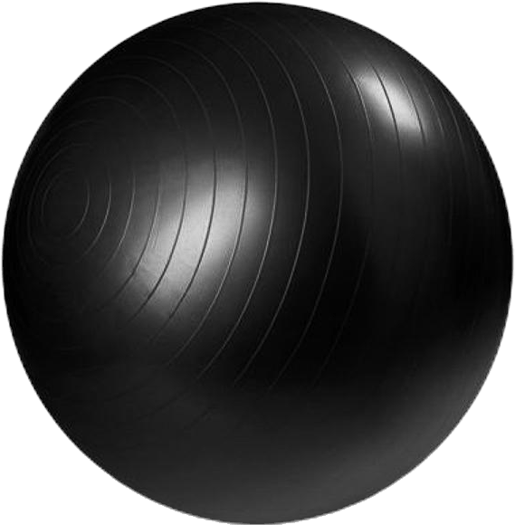 Gymboll 55Cm Black