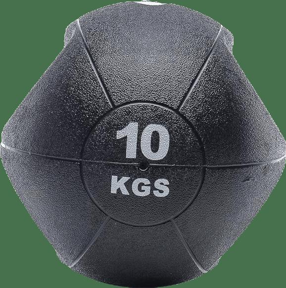 Medicinboll Grip 10 Kg Black