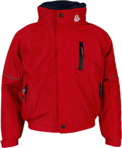Team Jacket Jr Red