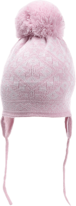 Alice Baby Hat Pink/White