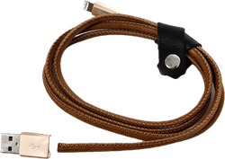 Getterön USB Cable Lightning 1M Brown