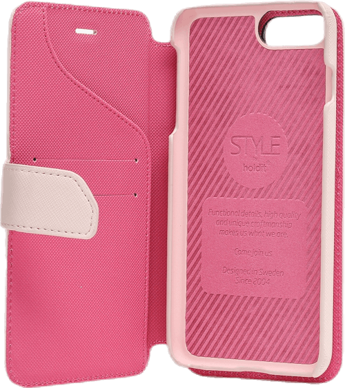 Stockholm Wallet Case Magnet iphone 6/7/8 Plus Pink