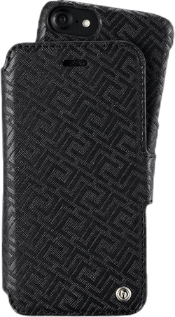 Stockholm Wallet Case Magnet iP 6/6S/7/8 Black