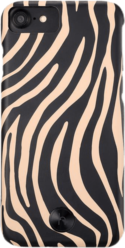 Paris Zebra iPhone 6/6s/7/8 Black/Beige