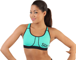 Power Bra A/B Turquoise