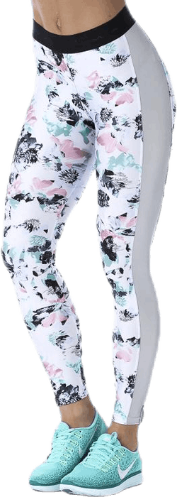 Namaste Tights Patterned/White