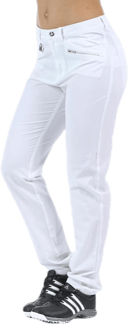 Comfort Str Pants 32 White
