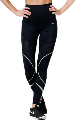 Shape Curved Long Tight Black
