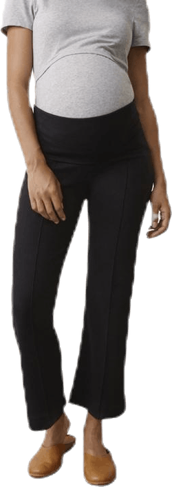 Once-On-Never-Off Cropped Pants Black