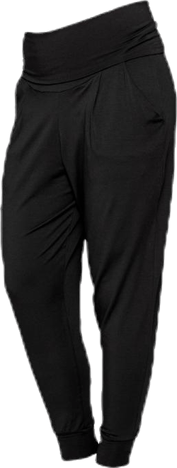 Once-on-never-off easy pants Black