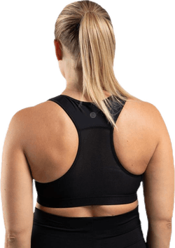 Fast Food Sports Bra Black