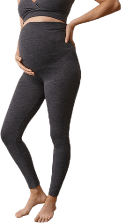 Merino Wool Leggings Grey