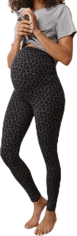 Once-On-Never-Off Leggings Black/Grey
