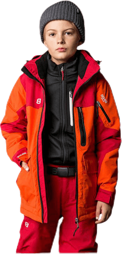 Jayden Jr Jacket Orange/Red