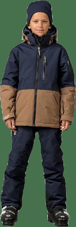 Kaman JR Jacket Blue/Brown