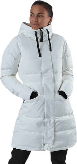 Selma Coat White