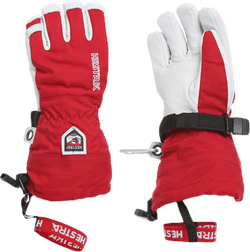 Army Leather Heli Ski Jr White/Red