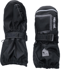 Baby Zip Long - Mitten 0-5 Years Black