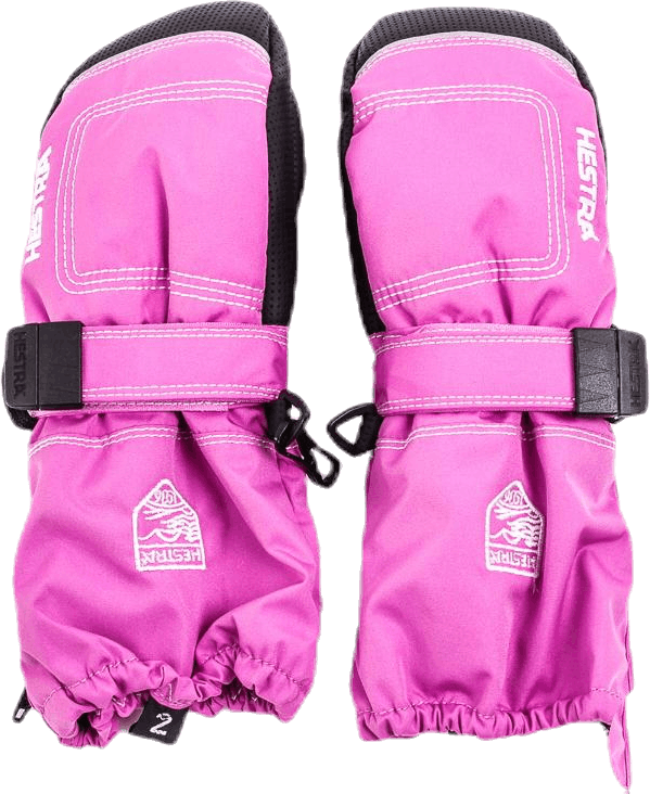 Baby Zip Long - Mitten 0-5 Years Pink