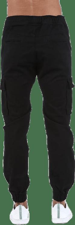 Alpha Street Pants Black